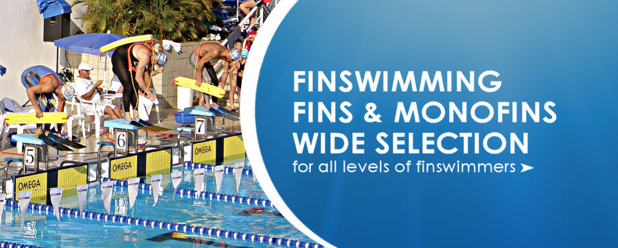 World leading finswimming fins and monofins at unbeatable prices