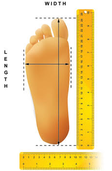 Foot Measuring Guide